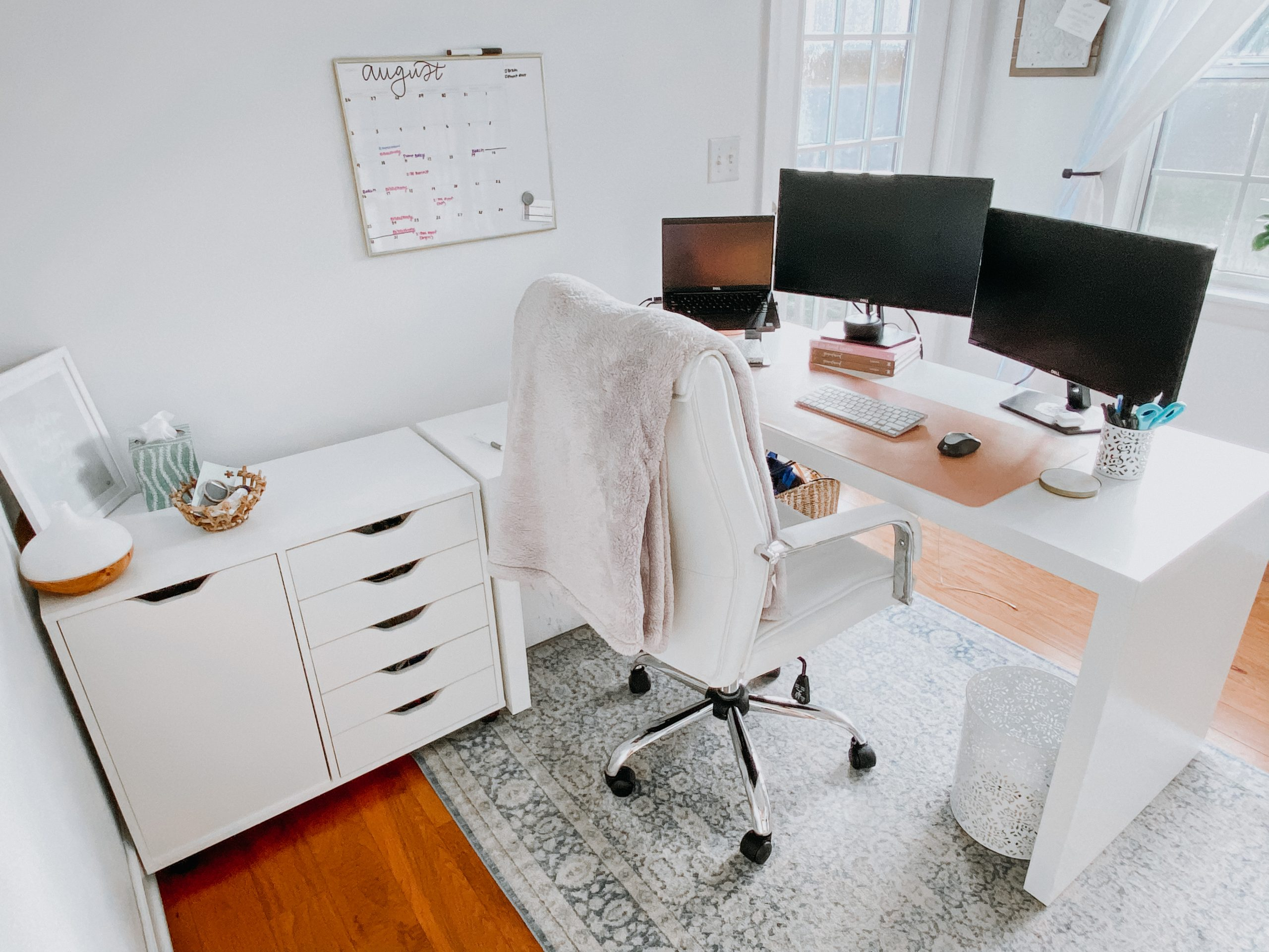 10 Home Office Essentials - NatalieHab.com: With remote work becoming the new norm, I've curated a list of my home office essentials. These 10 items are the key to success as a remote employee.