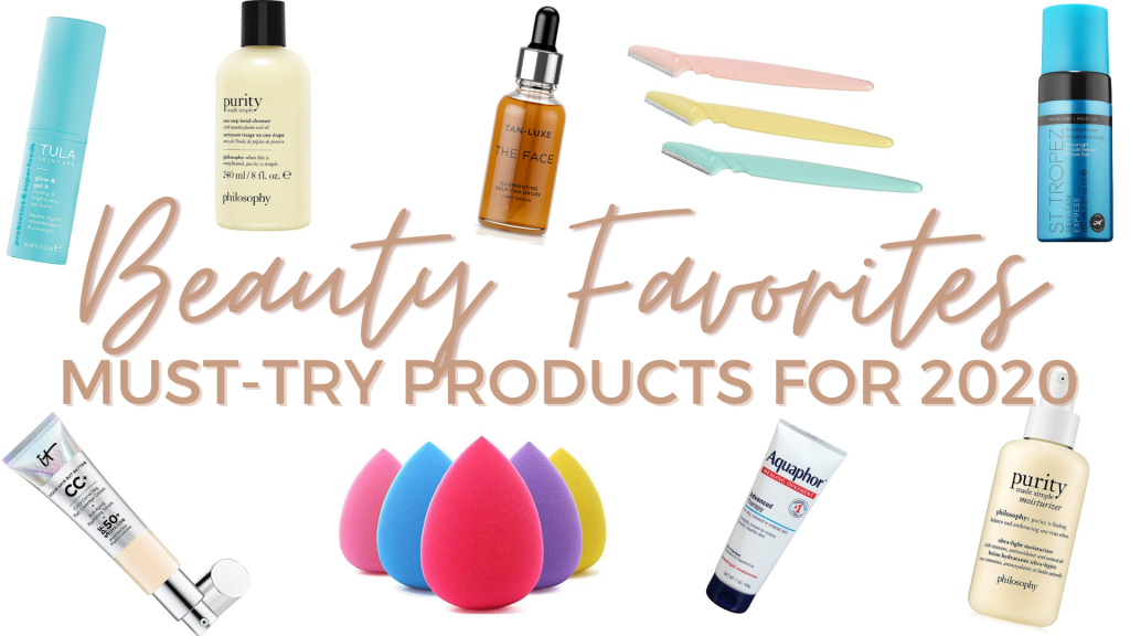 Beauty Products You Need in 2020 - natalie hab | beauty, makeup, skincare, must-try beauty, favorite beauty, best of beauty, haircare, beauty essentials, beauty products, everyday makeup, everyday skincare, affordable beauty, self care, beauty tips, self tanner